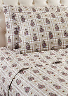 Shavel Micro Flannel Grizzly B. Cool Full Sheet Set