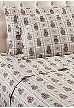 Grizzly King Sheet Set: 108-in. x 110-in