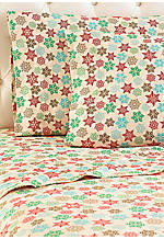 Snowflake MICRO FLANNEL® King Sheet Set 110-in. x 108-in.