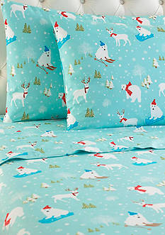 Shavel MICRO FLANNEL PRINTED SHEET SET