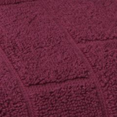 Tan/khaki Bath Towels: Burgundy Vicki Payne VP MATTONI TILES 3 P