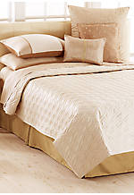 Champagne Pearl King Coverlet 108-in. x 95-in.