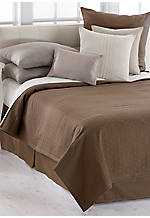 Laguna Rib Brunette King Quilt 108-in. x 95-in.