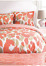 Lynx Leopard Orange Twin XL Comforter Set 68-in. x 92-in.