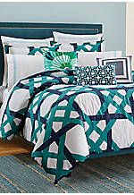 Pacific Pier Lattice Twin Mini Comforter Set  68-in. x 92-in.