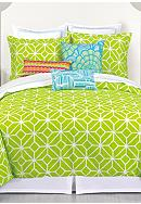 Trina Turk Trellis Lime Bedding Collection
