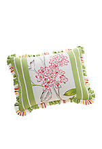Floral Marseilles Reversible Breakfast Pillow 12-in. x 15-in.