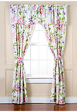 Floral Marseilles Balloon Valance 19-in. x 80-in.