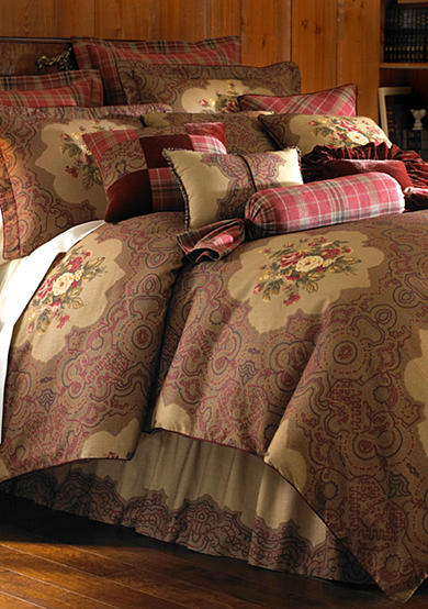 Rose Tree Park Manor 4-Piece Bedding Collection - Online Only