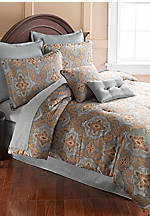 Obesque King 8-piece Comforter Set 106-in. x 94-in.
