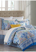 Painted Paisley California King Comforter Set 110-in. X 96-in.