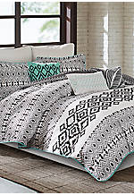 Kaela King Reversible Comforter Set 110-in. x 96-in.