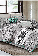 Kaela California King Reversible Comforter Set 110-in. x 96-in.