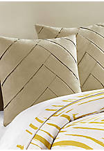Abstract Palm Linen Euro Sham 26-in. x 26-in.