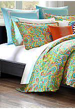 Beacon's Paisley Multi Full/Queen Duvet Set 92-in. x 96-in.