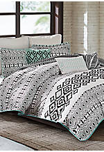 Kaela Full/Queen Reversible Duvet Set 92-in. x 96-in.