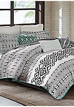 Kaela King Reversible Duvet Set 110-in. x 96-in.