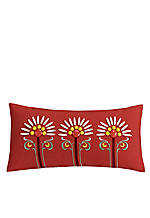 Jaipur Red Decorative Pillow 9-in. x 18-in.