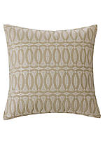 Abstract Palm Linen Geo Pillow 16-in. x 16-in.