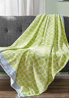 Echo Design™ Spiro Links Micro Velour Throw