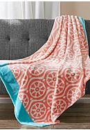 Echo Design™ Lotus Micro Velour Throw