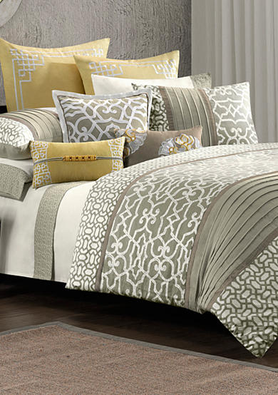N Natori Fretwork Bedding Collection
