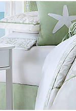 Brisbane White Queen Sheet Set