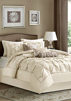 Madison Park LAUREL KG IVORY 7PC