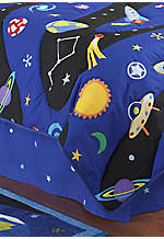 Out of this World Twin Bedskirt 39-in. x 75-in. + 15-in. drop