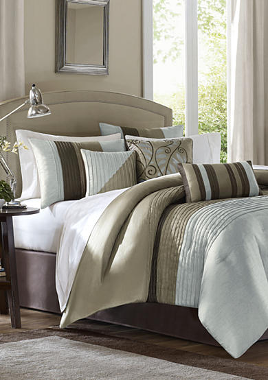 Madison Park Tradewinds Blue 7-piece Comforter Set - Online Only