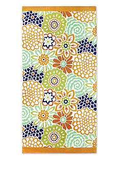 Waverly® Button Blooms Beach Towel