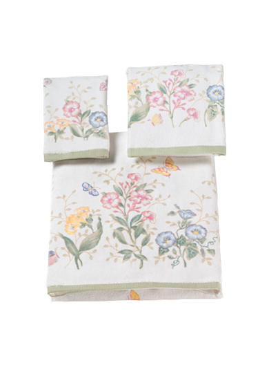 Lenox® Butterfly Meadow Towel Collection-Butterfly Print