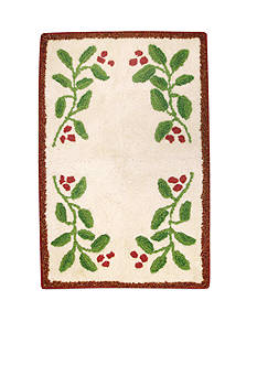 Lenox Holiday Nouveau Collection Bath Rug