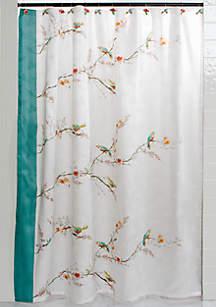 style lounge shower curtain. Chirp Shower Curtain Curtains  Bath Liners Unique belk