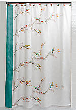 Chirp Shower Curtain