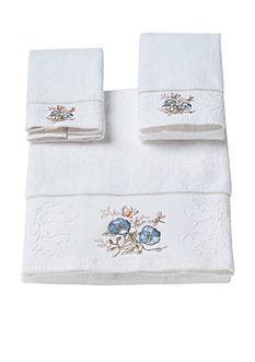 Lenox® Butterfly Meadow Towel Collection-Blue Flower