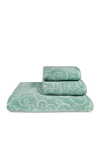 Lenox® French Perle Groove Bath Towel Collection