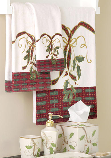 Lenox® Holiday Nouveau Collection Bath Towels