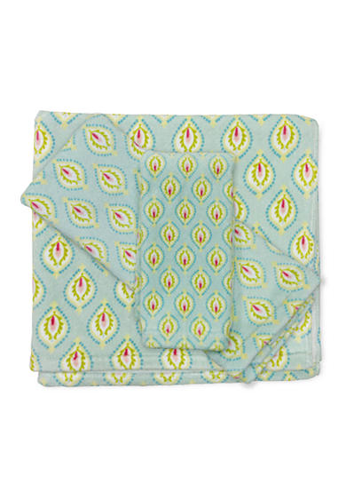 Dena Home™ Peacock Geo Bath Towel Collection - Online Only