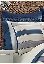 Chilmark Multi Blue Euro Shams 26-in. x 26-in.