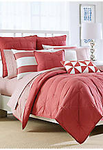Lawndale Coral Full/Queen Coverlet 90-in. x 90-in.