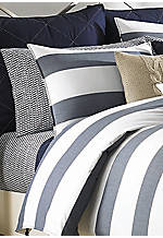Lawndale Navy Queen Sheet Set - Fitted 60-in. x 80-in.