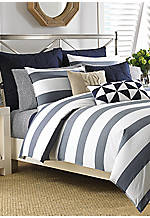 Lawndale Navy Twin Comforter Set 66-in. x 86-in.