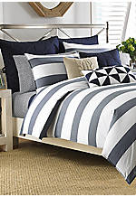 Lawndale Navy King Comforter Set 96-in. x 104-in.