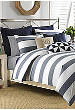 Lawndale Navy King Duvet Set 92-in. x 107-in.