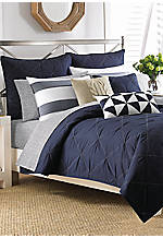 Lawndale Navy Twin Coverlet 68-in. x 88-in.