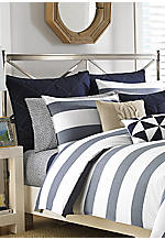 Lawndale Navy Euro Sham 26-in. x 26-in.