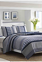 Adelson Twin Quilt 88-in. x 68-in.