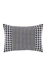 Ayer Geo Embroidered Decorative Pillow 14-in. x 20-in.