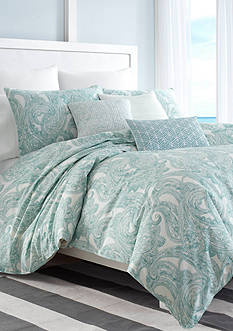 Nautica Long Bay Full/Queen Duvet Cover